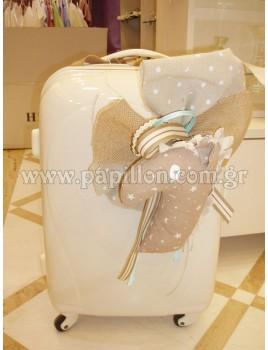 Βαλίτσα πλαστική με άλογο