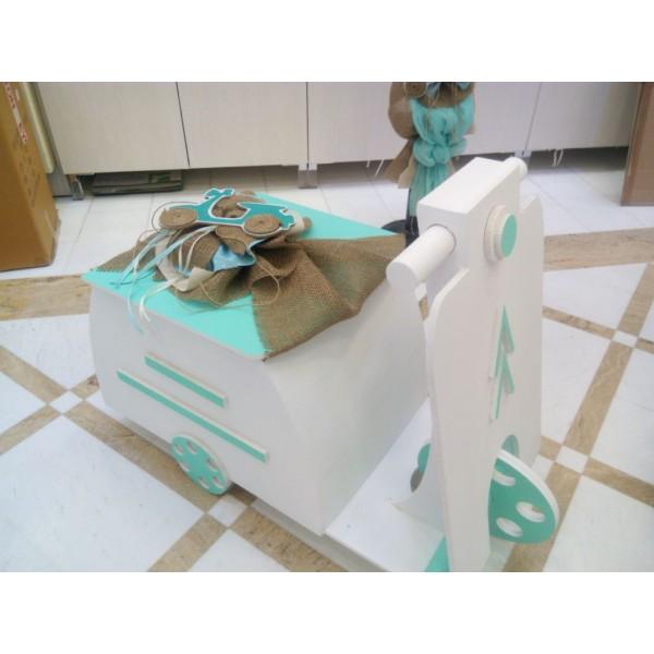 Κουτί βάπτισης Βέσπα με Βέσπα κωδ.6168
