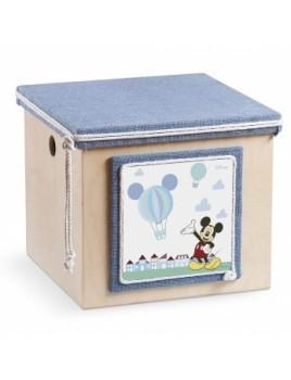 Κουτί βάπτισης Disney Κύβος με Mickey κωδ.6258