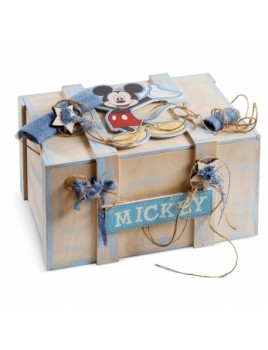 Κουτί βάπτισης Disney Σεντούκι με Mickey κωδ.6254