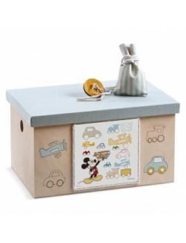 Κουτί βάπτισης Disney Σεντούκι με Mickey κωδ.6256