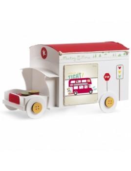 Κουτί βάπτισης Disney Τρένο με Mickey