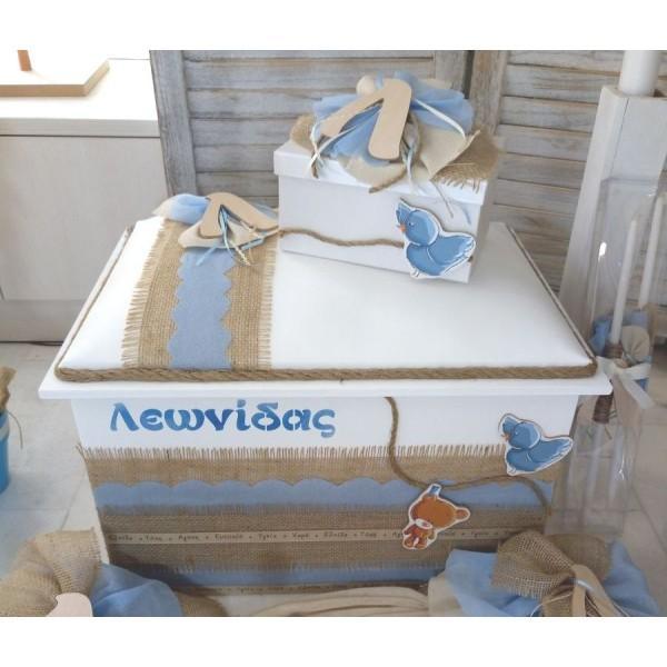 Κουτί Βάπτισης Σεντούκι με Αρκουδάκι, Αρχικό κωδ.8941
