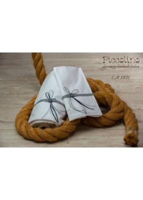 Σετ λαδόπανα βάπτισης Piccolino κωδ.: LA1931