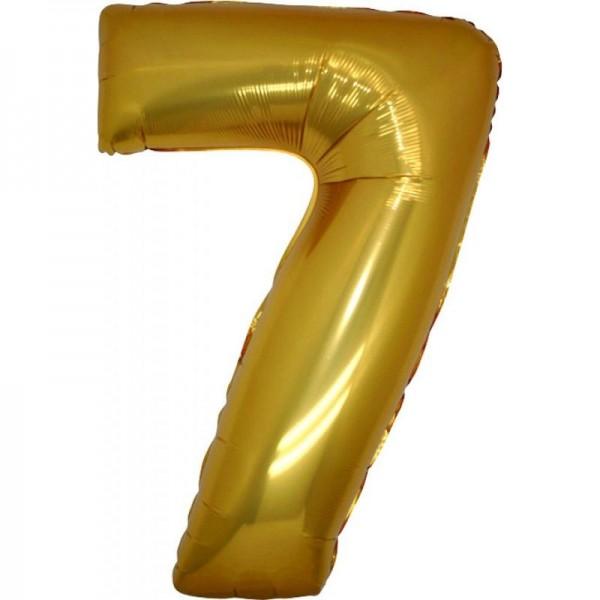 Μεταλλικό μπαλόνι αριθμός 7 (88x53cm)