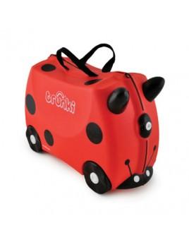 Trunki Harley Ladybug Παιδική Βαλίτσα Ταξιδίου