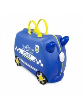 Trunki Percy Police Car Παιδική Βαλίτσα Ταξιδίου