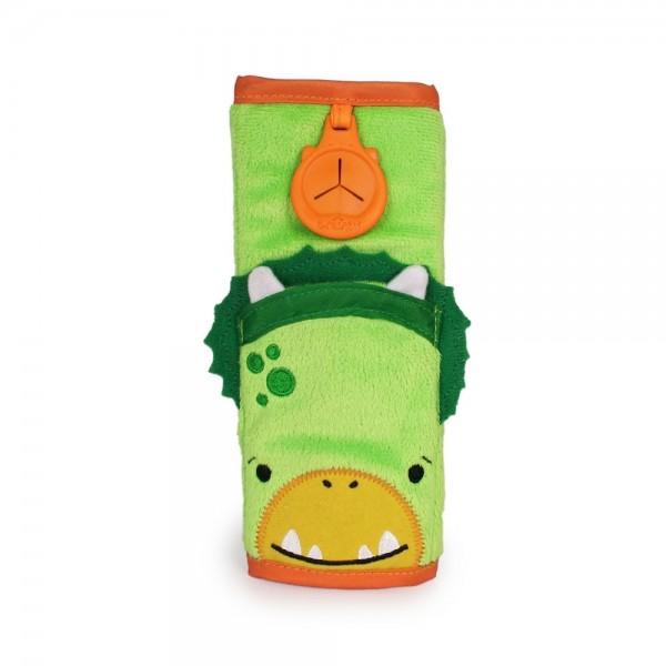 Trunki Seatbelt Pad Dudley (Green) Snoozihedz - μαξιλαράκι ζώνης ασφαλείας αυτοκινήτου