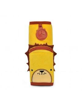 Trunki Seatbelt Pad Leeroy (Yellow) Snoozihedz - μαξιλαράκι ζώνης ασφαλείας αυτοκινήτου