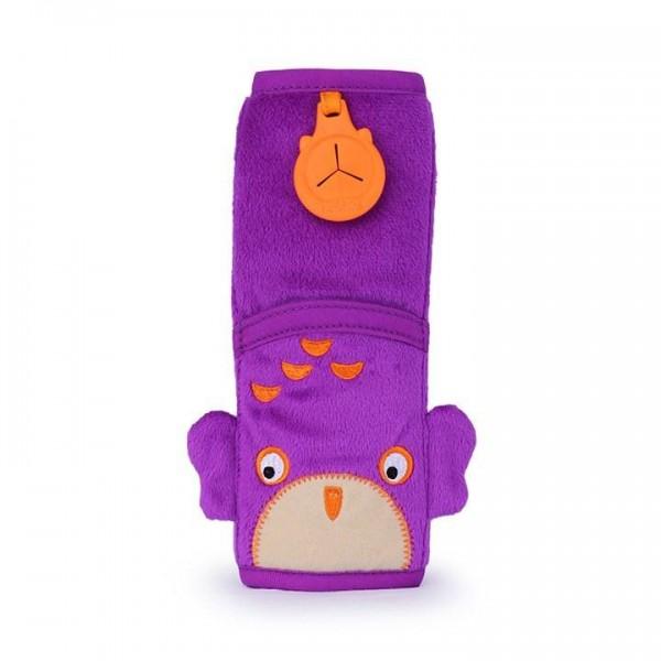 Trunki Seatbelt Pad Ollie (Purple) Snoozihedz - μαξιλαράκι ζώνης ασφαλείας αυτοκινήτου