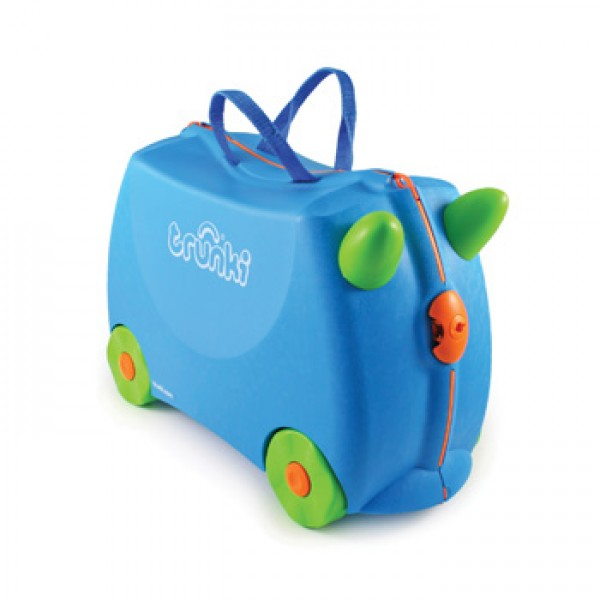Trunki Terrance (Blue) Παιδική Βαλίτσα Ταξιδίου