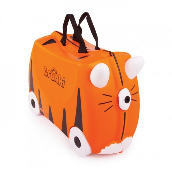 Trunki Tipu Tiger Παιδική Βαλίτσα Ταξιδίου