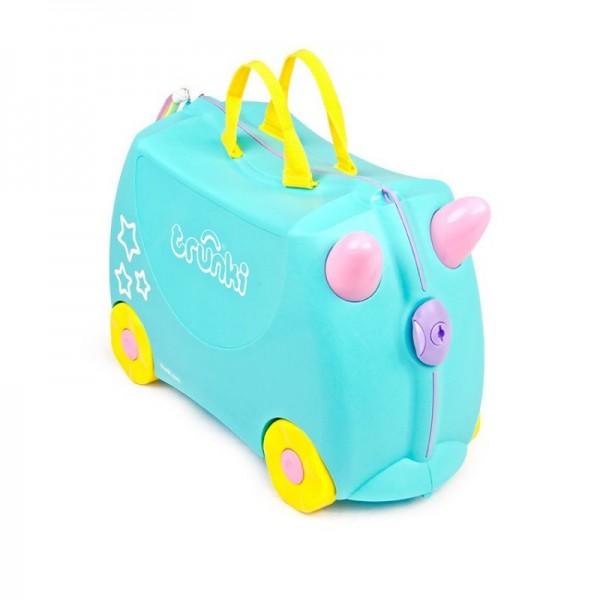 Trunki Una Unicorn Παιδική Βαλίτσα Ταξιδίου