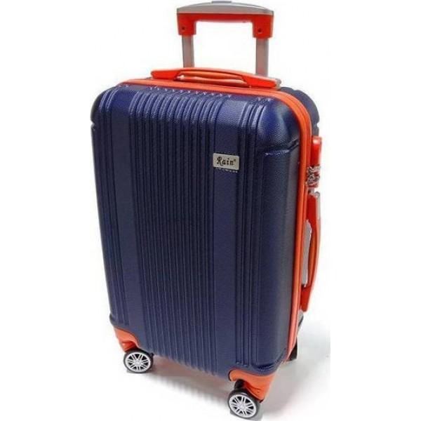 Βαλίτσα Rain RB9028 Cabin Blue - Orange