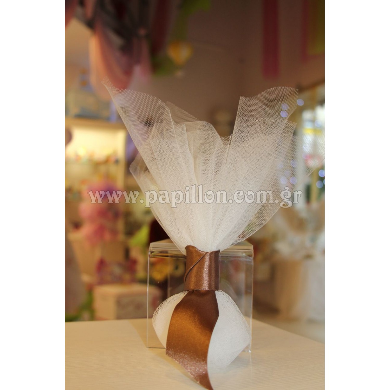 Μπομπονιέρα γάμου κωδ.  18 - Papillon eShop  8b46aeed541