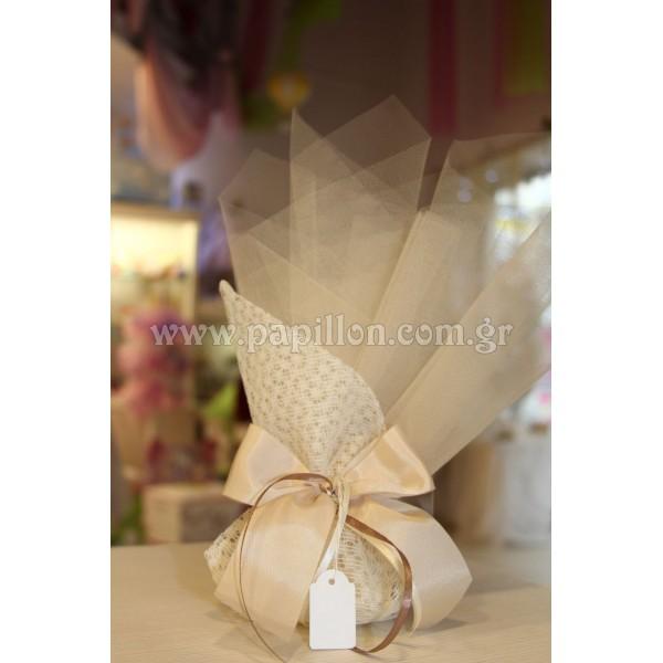 Μπομπονιέρα γάμου κωδ.: 27