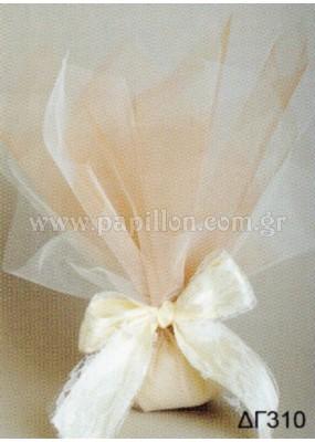Μπομπονιέρα γάμου κωδ.: dg310
