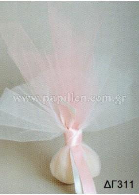 Μπομπονιέρα γάμου κωδ.: dg311
