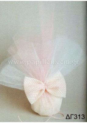 Μπομπονιέρα γάμου κωδ.: dg313