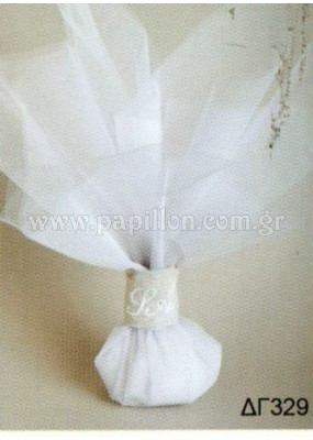 Μπομπονιέρα γάμου κωδ.: dg329