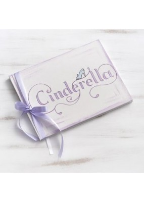 Ευχολόγιο Βάπτισης με θέμα Cinderella, Disney