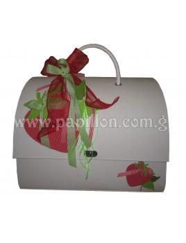 Βαλίτσα φράουλα