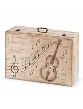 Κουτί βάπτισης Βαλίτσα με Μουσική κωδ.6333