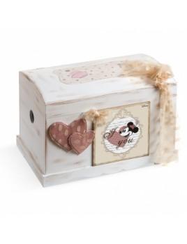 Κουτί βάπτισης Disney Σεντούκι με Minnie κωδ.6296