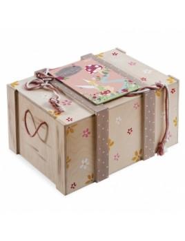 Κουτί βάπτισης Disney Σεντούκι με Tinkerbell