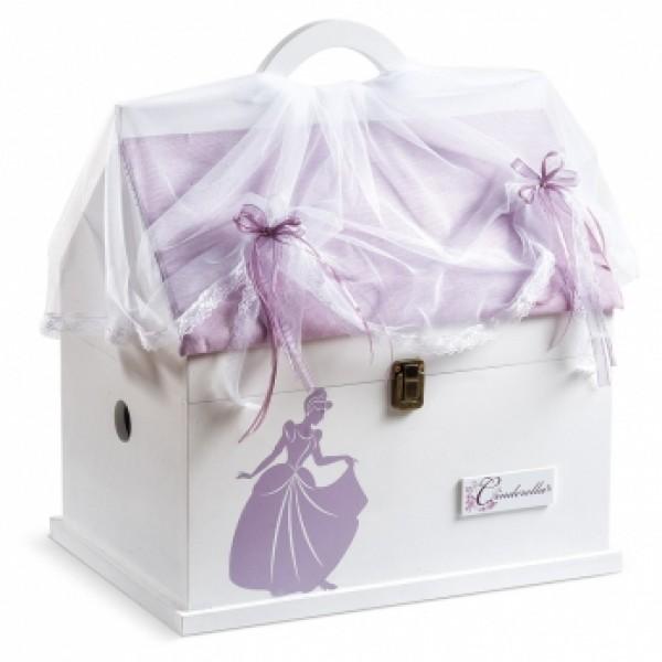 Κουτί βάπτισης Disney Σπίτι με Cinderella