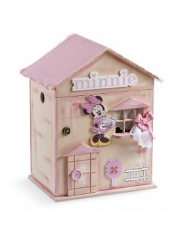 Κουτί βάπτισης Disney Σπίτι με Minnie κωδ.6287