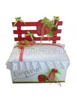 Παγκάκι με Φράουλα