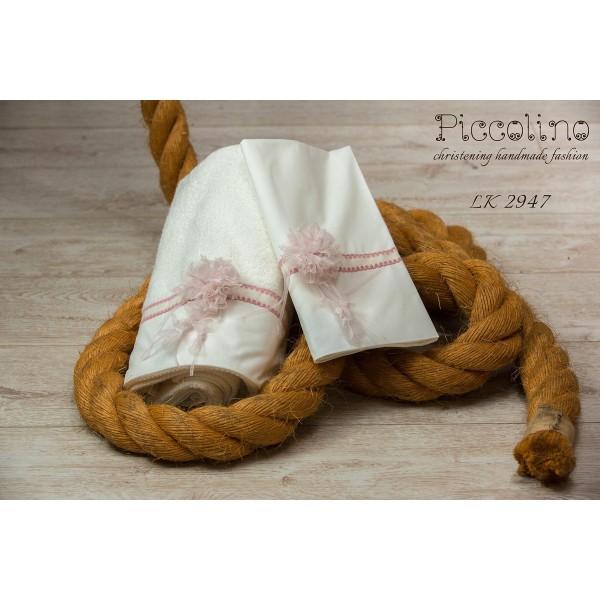 Σετ λαδόπανα βάπτισης Piccolino κωδ.: LK2947