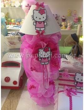 Λαμπάδα Φωτιστικό με Hello Kitty