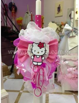 Λαμπάδα Κερί Hello Kitty