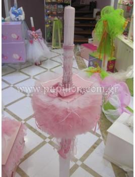 Λαμπάδα κερί μπαλαρίνα