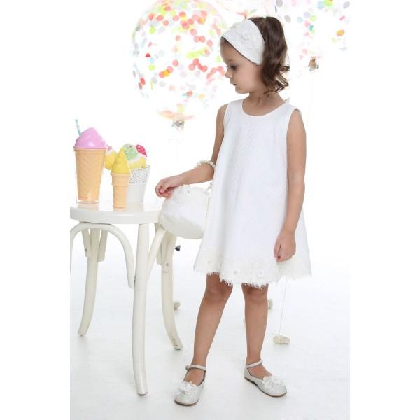 Mi Chiamo Φόρεμα Βάπτισης K-4031