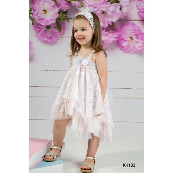 Mi Chiamo Φόρεμα Βάπτισης K4133
