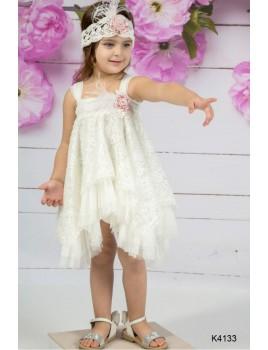 Φόρεμα Βάπτισης Mi Chiamo K4133-2