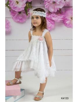 Mi Chiamo Φόρεμα Βάπτισης K4133-3