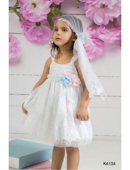 Φόρεμα Βάπτισης Mi Chiamo K4134