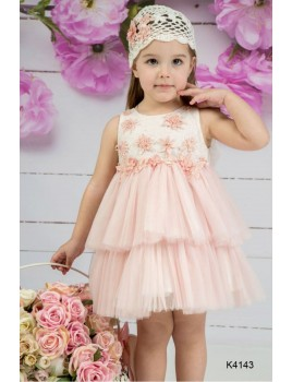 Mi Chiamo Φόρεμα Βάπτισης K4143-2