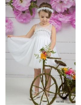 Φόρεμα Βάπτισης Mi Chiamo K4145