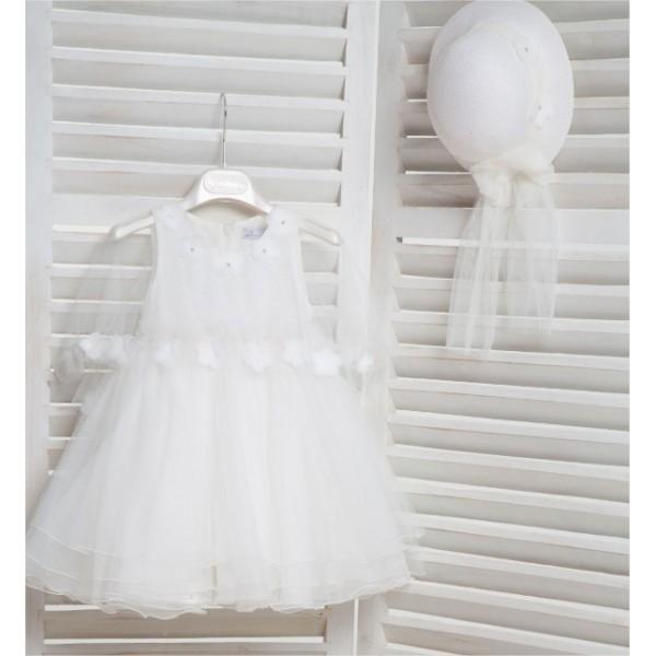 Mi Chiamo Φόρεμα Βάπτισης K4161