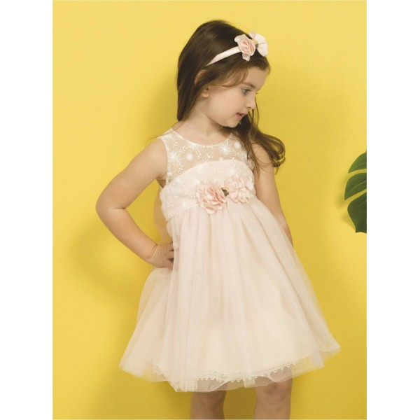 Mi Chiamo Φόρεμα Βάπτισης Κ 4293-Ρ