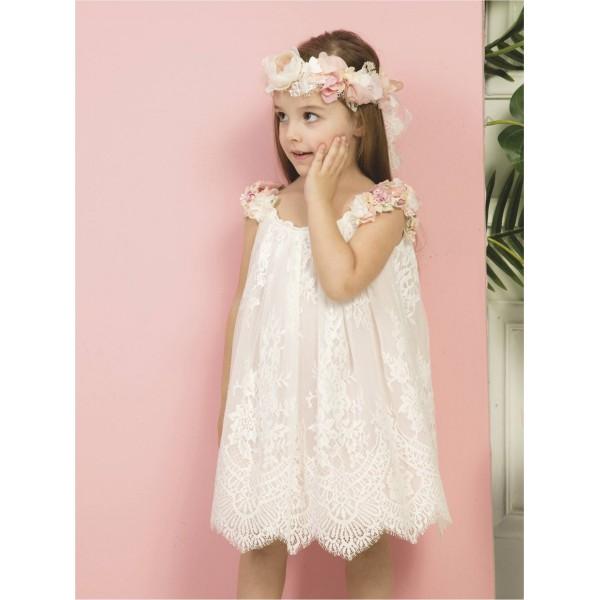Mi Chiamo Φόρεμα Βάπτισης Κ 4294