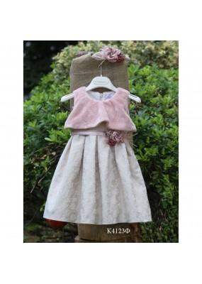 Mi Chiamo Φόρεμα Βάπτισης 4123