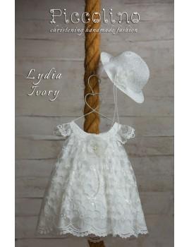 Piccolino Φόρεμα Βάπτισης DR19S04 LYDIA IVORY