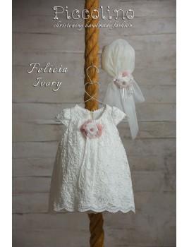 Piccolino Φόρεμα Βάπτισης DR19S09 FELICIA IVORY