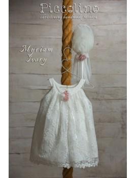 Piccolino Φόρεμα Βάπτισης DR19S11 MYRIAM IVORY